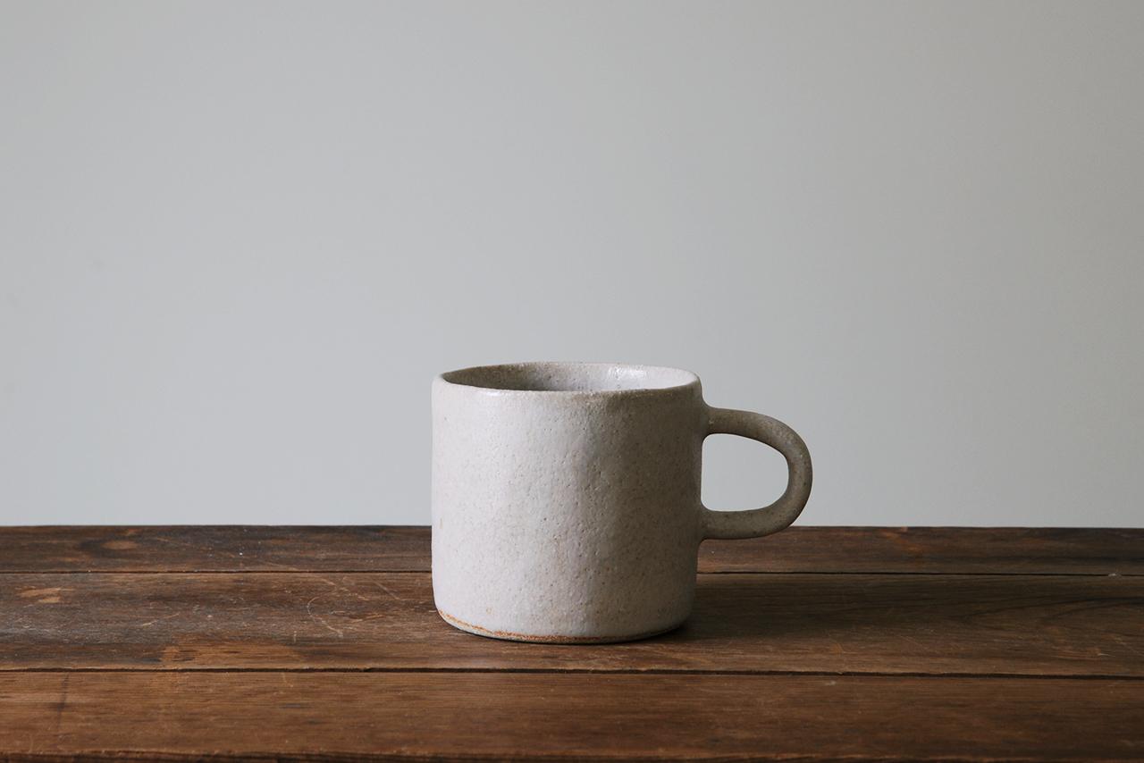 マグカップ 灰白